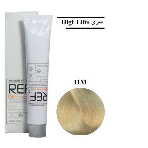 رنگ مو رف 11M بلوند خاکستری کاملا روشن قوی