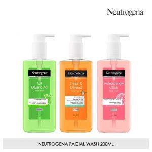 ژل شستشوی صورت Deep Clean نیتروژینا (Neutrogena)