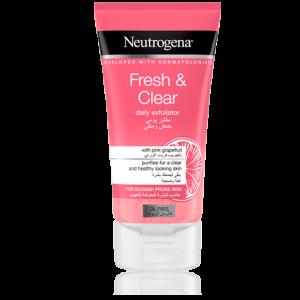 اسکراب گریپفروت Fresh & Clear نیتروژینا (Neutrogena)
